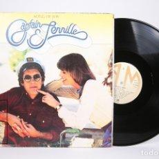 Discos de vinilo: DISCO LP DE VINILO - CAPTAIN & TENNILLE / SONG OF JOY - A&M - AÑO 1976 - ENCARTE - PORTADA ABIERTA. Lote 152880426