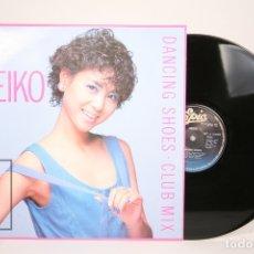 Discos de vinilo: DISCO MAXI SINGLE DE VINILO - SEIKO / DANCING SHOES. CLUB MIX - EPIC - AÑO 1985. Lote 152880981