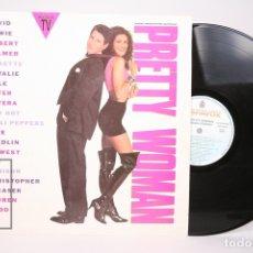 Discos de vinilo: DISCO LP DE VINILO - PRETTY WOMAN / BANDA SONORA ORIGINAL - HISPA VOX - AÑO 1990. Lote 152881010