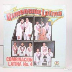 Discos de vinilo: DISCO LP DE VINILO -DIMENSIÓN LATINA / COMBINACIÓN LATINA Nº 4 -VELVET 1979 -PUERTO RICO- PRECINTADO. Lote 152884942