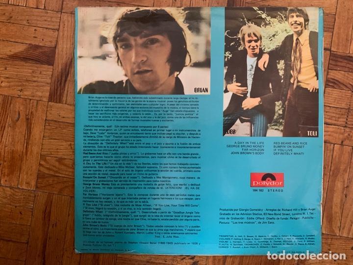 Discos de vinilo: Brian Auger & The Trinity ?– Definitely What! Sello: Polydor ?– 184 182 Formato: Vinyl, LP, Album - Foto 2 - 152896002