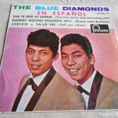 Discos de vinilo: BLUE DIAMONDS, THE, EN ESPAÑOL, EP, QUE TE DEJE DE QUERER + 3, AÑO 1964. Lote 152898102