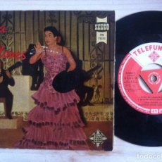 Discos de vinilo: LOLA FLORES - TU RICA BOCA, MI ULTIMO FRACASO,..EP 1958 - TELEFUNKEN. Lote 152914942