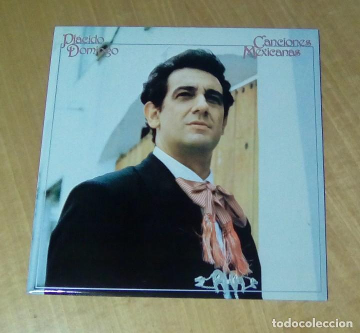 PLACIDO DOMINGO - CANCIONES MEXICANAS (LP 1982, CBS S 73652) (Música - Discos - LP Vinilo - Clásica, Ópera, Zarzuela y Marchas)