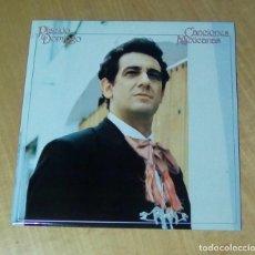 Discos de vinilo: PLACIDO DOMINGO - CANCIONES MEXICANAS (LP 1982, CBS S 73652). Lote 152932210