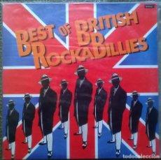 Discos de vinilo - VVAA. Best of British RockaBillies. CFE, Spain 1985 LP - 152934022