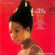Discos de vinilo: LP NINA SIMONE SILK & SOUL VINILO. Lote 194303832