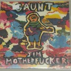 Discos de vinilo: GAUNT - SPINE + JIM MOTHERFUCKER ( SINGLE GET HIP RECORDS) USA 1993. Lote 152965826