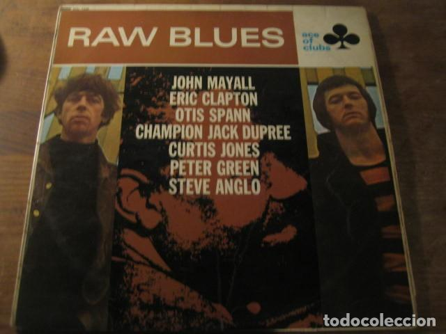 VVAA - RAW BLUES **** LP UK BLUES R&B JOHN MAYALL ERIC CLAPTON OTIS SPANN 1967 (Música - Discos - LP Vinilo - Pop - Rock Extranjero de los 50 y 60)