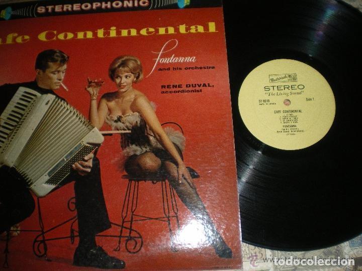 CAFE CONTINENTAL RENE DUVAL (MASTERSEAL-1960) OG USA (Música - Discos - LP Vinilo - Bandas Sonoras y Música de Actores )
