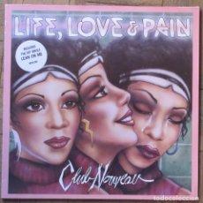 Discos de vinilo: CLUB NOUVEAU. LIFE, LOVE & PAIN. 1986, WARNER, 925 531-1. CARPETA Y DISCO EX, EX.. Lote 153039162