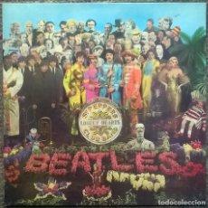 Discos de vinilo: THE BEATLES. SGT. PEPPERS LONELY HEARTS CLUB BAND. PARLOPHONE, UK 1967 (LP + ENCARTE PCS 7027). Lote 159402278