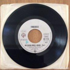 Discos de vinilo: FUNKADELIC ONE NATION UNDER GROOVE SINGLE 1978. Lote 153058302