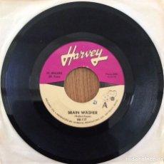 Discos de vinilo: JR WALKER & ALL STARS BRAIN WASHER SINGLE AMERICANO. Lote 153058858