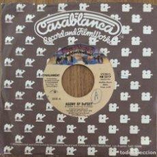 Disques de vinyle: PARLIAMENT AGONY OF BEFEET SINGLE CASABLANCA AÑO 1980. Lote 153060406