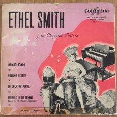 Discos de vinilo: ETHEL SMITH OSQUESTA CARIOCA EP MAMBO JAMBO ESPAÑA DISCO EXC. Lote 153064398