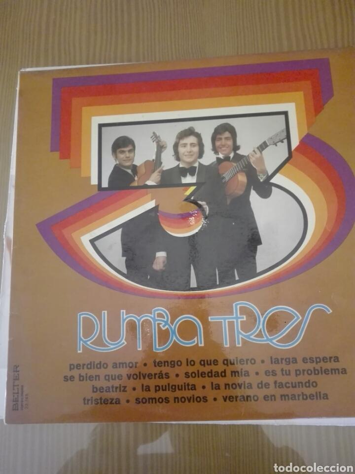 DISCO VINILO RUMBA TRES (Música - Discos - LP Vinilo - Flamenco, Canción española y Cuplé)
