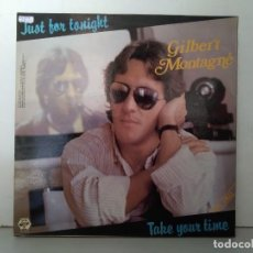 Discos de vinilo: GILBERT MONTAGNE . Lote 153070954