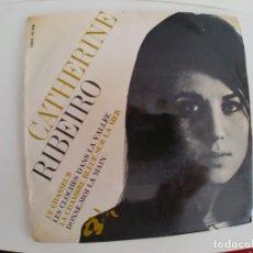 Discos de vinilo: CATHERINE RIBEIRO-EP LE CHASSER +3-ESPAÑA 1966. Lote 153073454