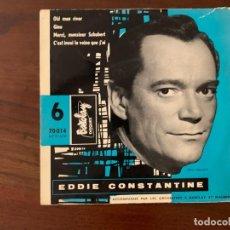 Discos de vinilo: EDDIE CONSTANTINE ?– 6 - OLD MAN RIVER SELLO: BARCLAY ?– 70014 FORMATO: VINYL, 7 , 45 RPM, EP . Lote 153077118