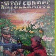Discos de vinilo: INTOLERANCE. LA GENERACIÓN DEL ODIO. . Lote 153086090