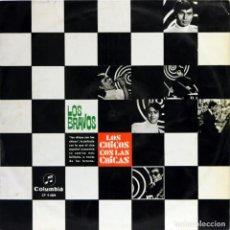 Discos de vinilo: LOS BRAVOS / LOS CHICOS CON LAS CHICAS (LP) 1967 (COLUMBIA). Lote 153092734