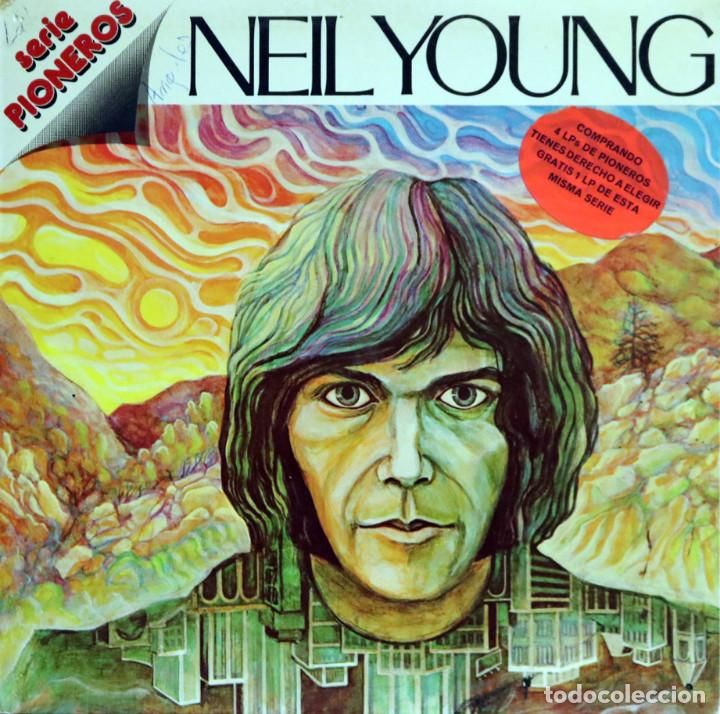 NEIL YOUNG / NEIL YOUNG (LP) 1978 (REPRISE RECORDS / HISPAVOX) (Música - Discos - LP Vinilo - Pop - Rock - Extranjero de los 70)