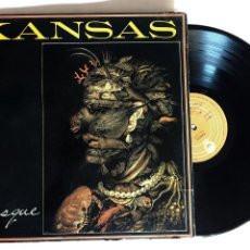 Discos de vinilo: DISCO LP VINILO KANSAS – MASQUE, EDICION ESPAÑOLA DE 1977. Lote 153094058