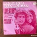 Discos de vinilo: ASTRUD GILBERTO – LOVE STORY (WHERE DO I BEGIN) SELLO: CTI RECORDS – TC-2034, CTI RECORDS  . Lote 153095566
