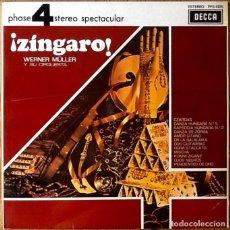 Discos de vinilo: WERNER MULLER : ZINGARO! [ESP 1978] LP. Lote 153101398