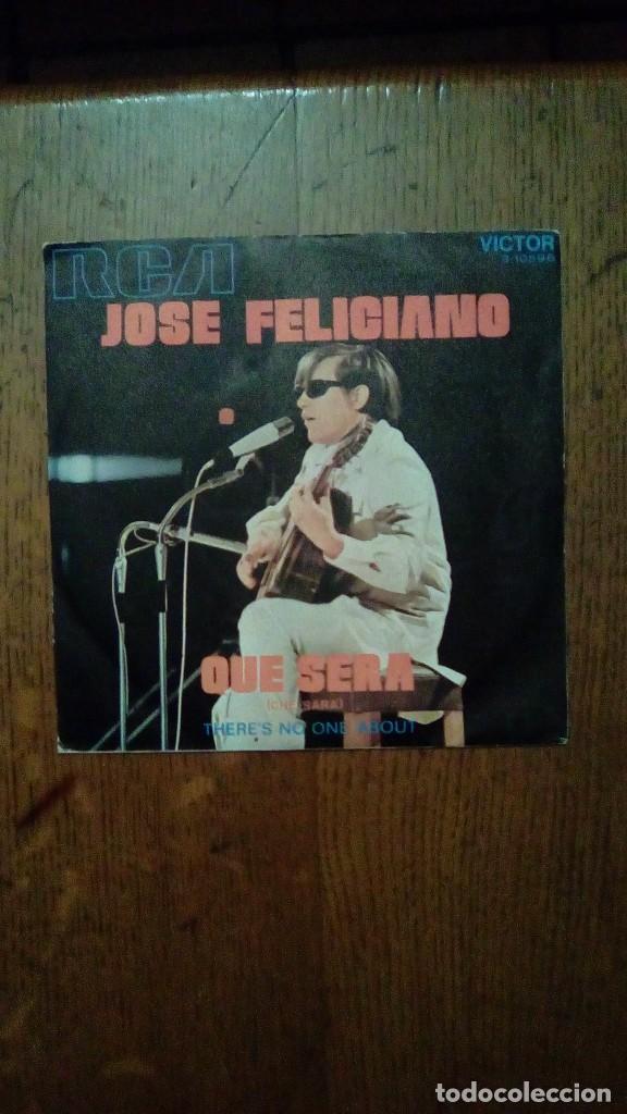 JOSE FELICIANO - QUE SERA, RCA, 1971. SPAIN. (Música - Discos - Singles Vinilo - Cantautores Extranjeros)