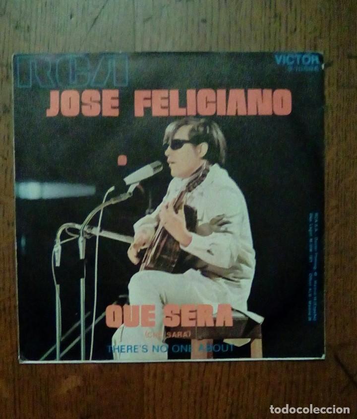 Discos de vinilo: Jose Feliciano - Que sera, Rca, 1971. Spain. - Foto 2 - 153114150