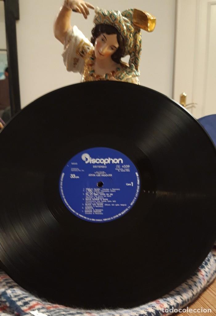 Discos de vinilo: Alone. John Lee Hooker - Foto 3 - 141654082