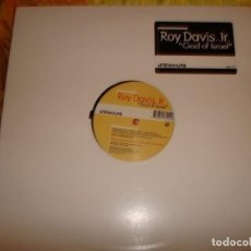 Discos de vinilo: ROY DAVIS, JR. GOD OF ISRAEL. AFTERHOURS, 1999. MAXI-SINGLE. IMPECABLE (#). Lote 153117350
