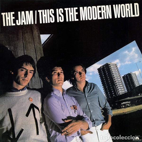 LP THE JAM THIS IS THE MODERN WORLD VINILO PAUL WELLER MOD PUNK (Música - Discos - LP Vinilo - Punk - Hard Core)