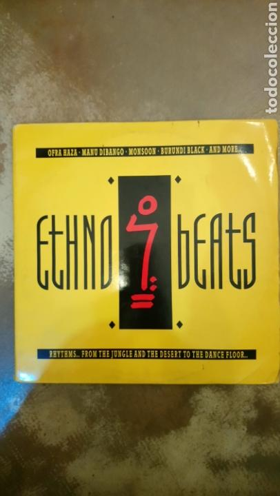 ETHNO BEATS (RHYTHMS... FROM THE JUNGLE AND THE DESERT TO THE DANCE FLOOR...) (Música - Discos - LP Vinilo - Techno, Trance y House)