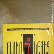 Discos de vinilo: ETHNO BEATS (RHYTHMS... FROM THE JUNGLE AND THE DESERT TO THE DANCE FLOOR...). Lote 153123216