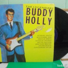 Discos de vinilo: BUDDY HOLLY THE LEGENDARY BUDDY HOLLY. HALLMARK RECORDS SHM 3221 LP UK 1987. Lote 153132226