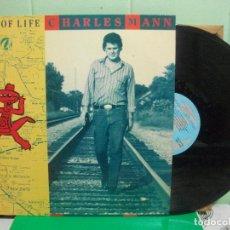 Discos de vinilo: CHARLES MANN ---- WALK OF LIFE LP 1990 PEPETO. Lote 153134622