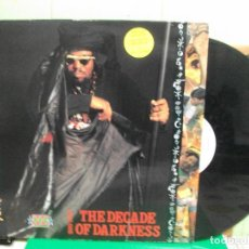 Discos de vinilo: AFRIKA BAMBAATAA & FAMILY - 1990-2000 THE DECADE OF DARKNESS (LP, ALBUM) 1991 SPAIN . Lote 153136878