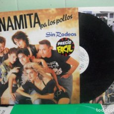 Discos de vinilo: DINAMITA PA LOS POLLOS - SIN RODEOS - LP - ACCIDENTALES 1990 SPAIN . Lote 153137078