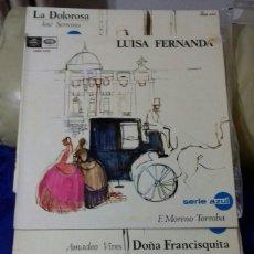 Discos de vinilo: LOTE LA ZARZUELA. SERIE AZUL. VINILOS FORMATO LP.. Lote 153150037
