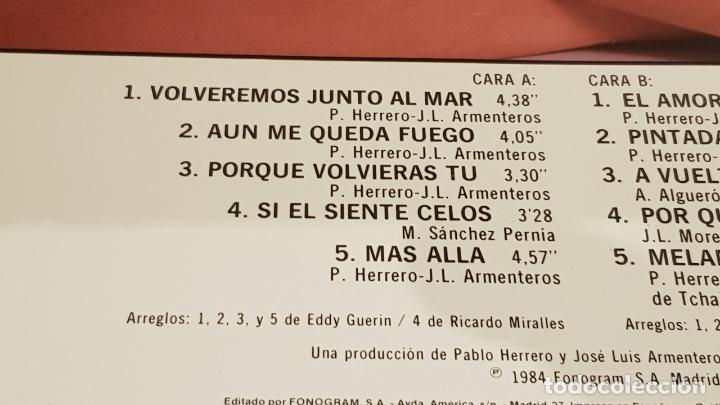 Discos de vinilo: FRANCISCO / A VUELTAS CON EL AMOR / LP - POLYDOR - 1984 / MBC. ***/*** - Foto 3 - 153182474