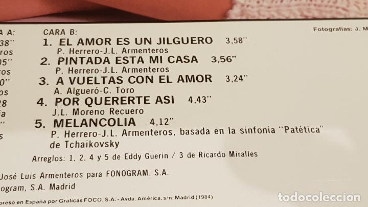 Discos de vinilo: FRANCISCO / A VUELTAS CON EL AMOR / LP - POLYDOR - 1984 / MBC. ***/*** - Foto 4 - 153182474