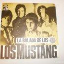 Discos de vinilo: SINGLE LOS MUSTANG. LA BALADA DE LOS 10 CÉNTIMOS. LA SOMBRA DEL CAMINO. EMI 1969 SPAIN. Lote 153190810