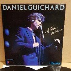 Discos de vinilo: DANIEL GUICHARD / A FORCE DE VIE...DOBLE LP-GATEFOLD - KUKLOS-1985 / MBC. ***/*** / DIFÍCIL. Lote 153190866