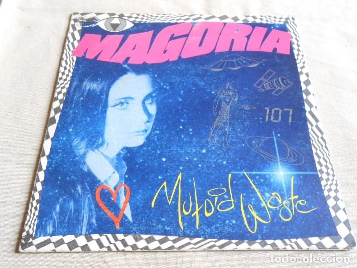 MAGORIA, SG, MUTOID WASTE + 1, AÑO 1990 PROMO (Música - Discos - Singles Vinilo - Pop - Rock Extranjero de los 90 a la actualidad)
