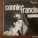Discos de vinilo: CONNIE FRANCIS – ESPAÑOLA SELLO: PERGOLA – 10039 B FORMATO: VINYL, 7 , EP, CLUB EDITION, MONO . Lote 153212202