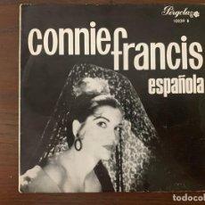 Discos de vinilo: CONNIE FRANCIS ?– ESPAÑOLA SELLO: PERGOLA ?– 10039 B FORMATO: VINYL, 7 , EP, CLUB EDITION, MONO . Lote 153212202