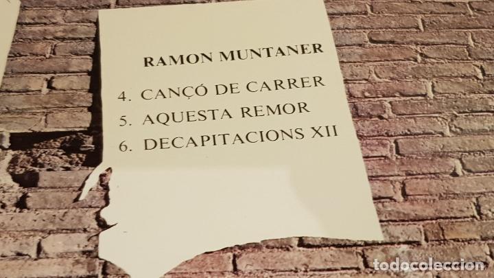 Discos de vinilo: CRIT I VEU DE CATALUNYA / LLACH-RAIMON-MUNTANER-PI DE LA SERRA / LP-APOLO-1976 / MBC. ***/*** - Foto 4 - 153216422